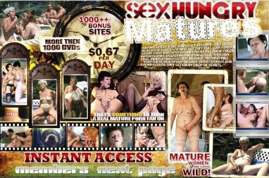 SexHungryMatures (SiteRip) Image Cover