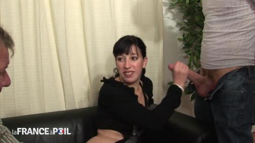 Mae - Horny French brunette has casting call [HD 720P]