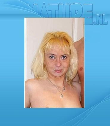 Mature - Moya (35) - Blonde mature slut just loving that cock