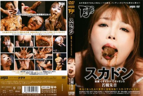 [DDT-206] スカドン 脱糞・くそイラマ・くそトランス 若槻朱音 女優 Pleasure Outlet Defecation Scat