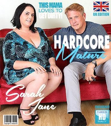 Mature - Sarah Jane (EU) (32) - British curvy lady fucking and sucking