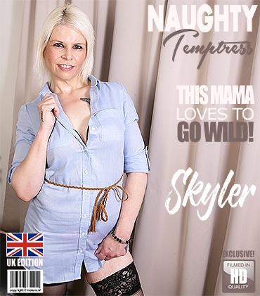 Mature - Skyler (EU) (43) - British mature temptress playing with herself