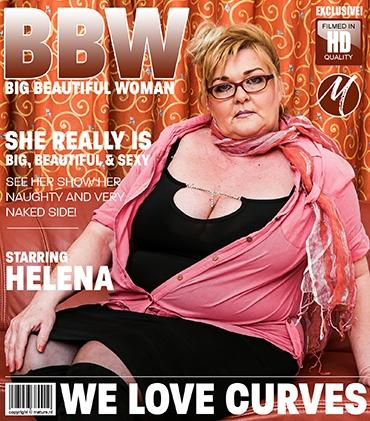 Mature - Helena (53) - Big, beautiful, mature lady Helena makes any man go nuts over her delicious curves. See her play just for you