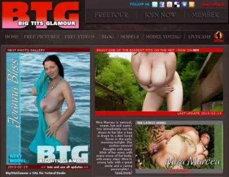BigTitsGlamour (SiteRip) Image Cover