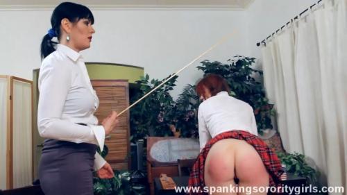 Miss Snow Punishes Veronica – Veronica Ricci, Snow, Episode 77. SpankingsororityGirls.com (198 Mb)