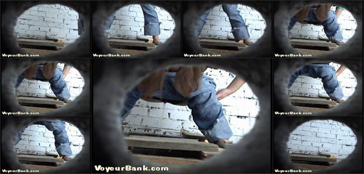 piss voyeurbank 587