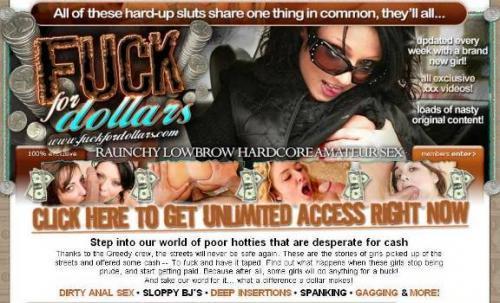 FuckForDollars (SiteRip) Image Cover