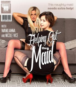 Mature - Nicole Vice (29), Wanilianna (42) - This naughty maid needs a hand from a naughty MILF