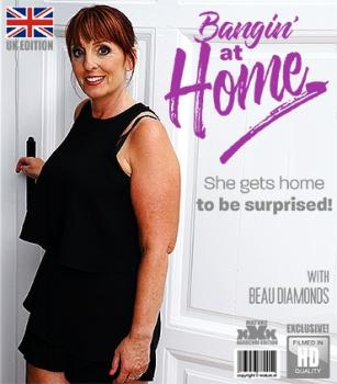 Mature - Beau Diamonds (EU) (49) - British beautiful mature housewife doing her toyboy