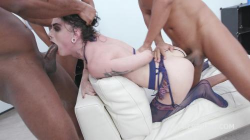 Black Piss, Lydia Black Vs 4 BBC, with Manhandle, Balls Deep Anal, Gapes, Pee Drink and Facial GIO1277 [HD 720P]