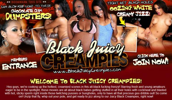 BlackJuicyCreampies (SiteRip) Image Cover
