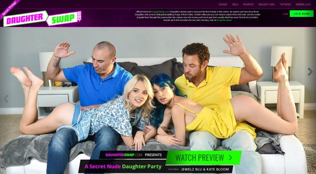 DaughterSwap (SiteRip) Image Cover