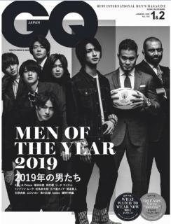GQ JAPAN 2020年01-02月号