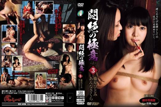 [AKHO-036] 悶絶の極意  3 Hitomi Fujiwara あんなさくらAB−AKHO036赤ほたるいか120minDVD20120413 SM Annasakura