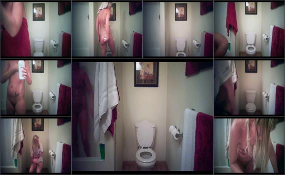 Real Spy Hidden Cam Quick Mix Sexy GF Shower