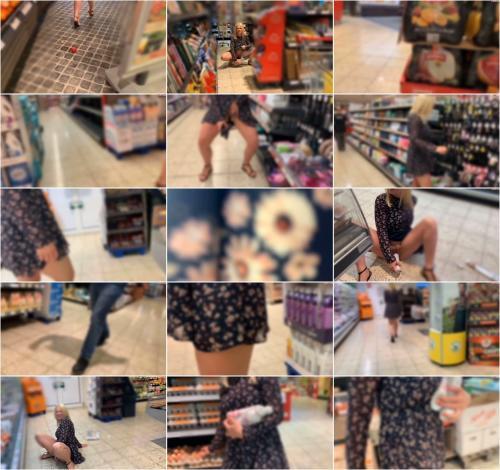 devil-sophie - Public Supermarkt piss und Wurst Einfuehrung - Ich muss nicht nur pissen [FullHD 1080P]